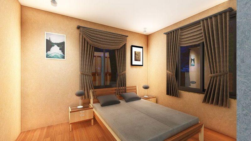 Naluvule 3D Bedroom